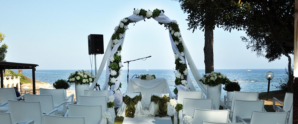 Floricoltura Loi - allestimento floreale matrimonio all'aperto