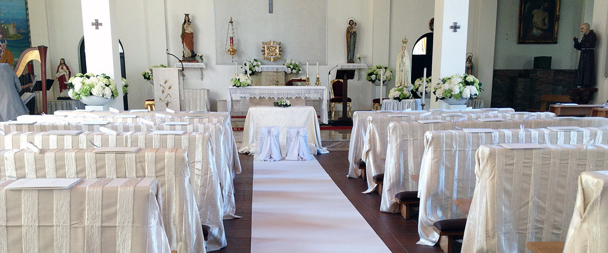 Floricoltura Loi - allestimento floreale matrimonio chiesa