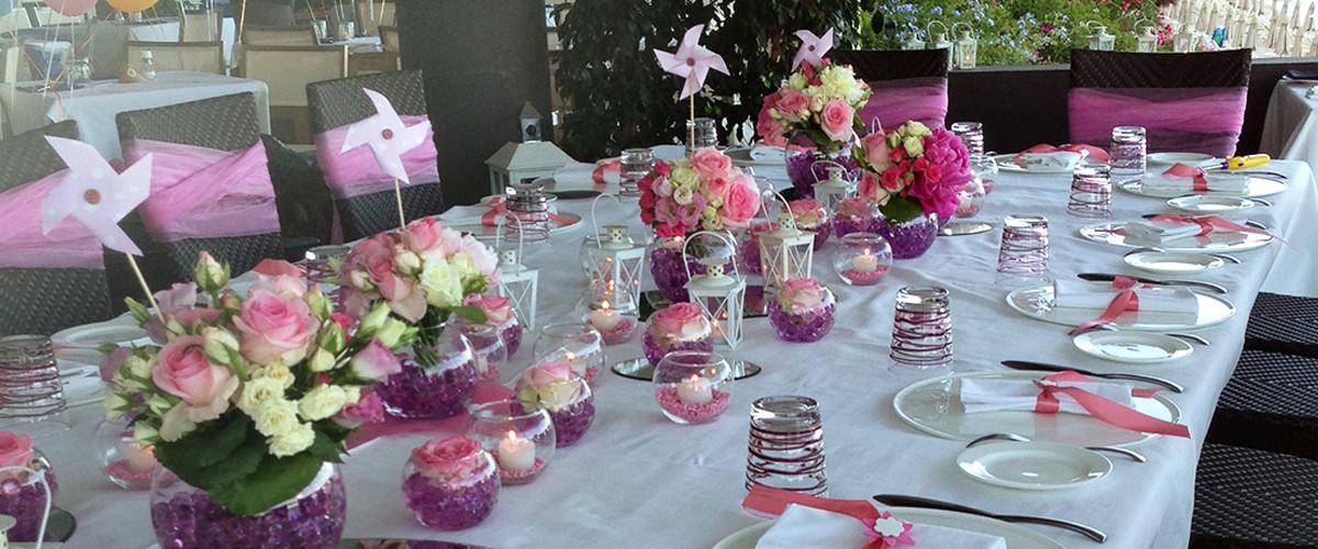 Floricoltura Loi - allestimento floreale festa rosa