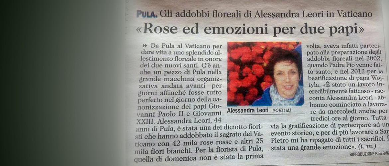 Floricoltura Loi - in Vaticano