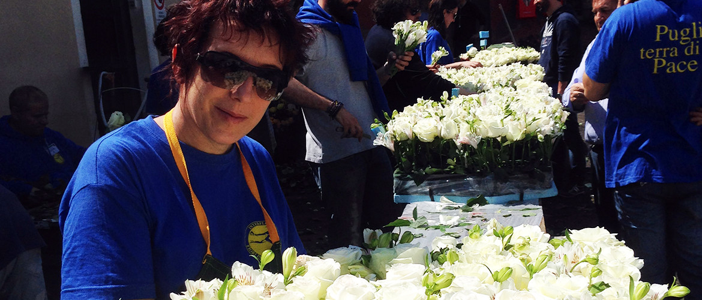 Floricoltura Loi - Alessandra Leori in Vaticano
